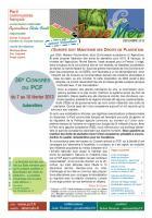 spécial Viticulture - L'EUROPE DOIT MAINTENIR SES DROITS DE PLANTATION